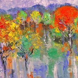 An Autumn Landscape by Amalia Suruceanu