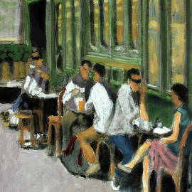 An Intimate Lunch by David Zimmerman