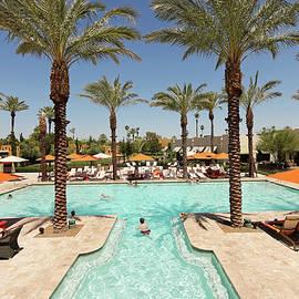 An Inviting Pool at The Wigwam, Litchfield Park, AZ, USA. by Derrick Neill