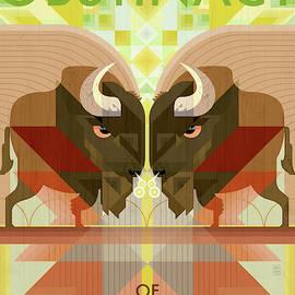 An Obstinacy of Buffalo by Garth Glazier