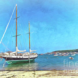 Anchored at the Scillies by Ian Lewis
