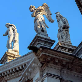 Ancient Statues by Andrew Cottrill