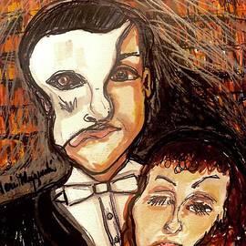 Andrew Lloyd Webber Phantom Of The Opera by Geraldine Myszenski