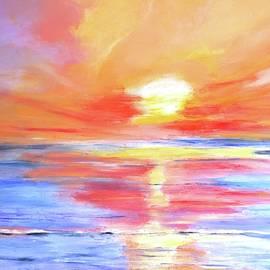 Anegada Sunset by Carlin Blahnik CarlinArtWatercolor