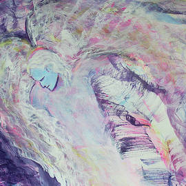 Angel about to Descend by Asha Carolyn Young