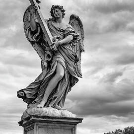 Angel with the Cross by Mike Schaffner