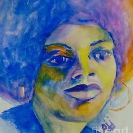 Angela Davis by Saundra Johnson