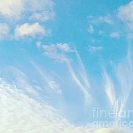 Angels in front of me by Jennifer Nease