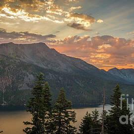 Angora Ridge Evening Light by Mitch Shindelbower