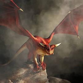 Angry Red Dragon by Daniel Eskridge