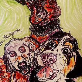 Animal Rescue Dog Groups by Geraldine Myszenski