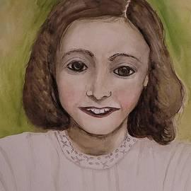 Anne Frank by Jackie Blakely