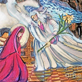 Annunciation of the Virgin by Mindy Newman