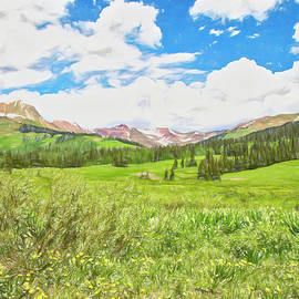 Another Springtime In The Rockies by Lorraine Baum