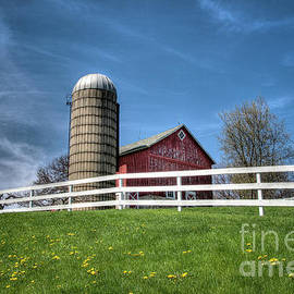 Another Unique Barn of Yesteryear by Deborah Klubertanz