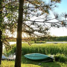 Another Wonderful Day Canoeing, Minnesota by Ann Brown