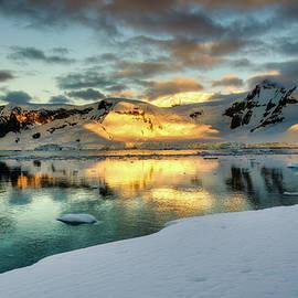 Antarctic Sunset by Jan Fijolek
