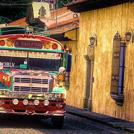 Antigua Chicken Bus 6 by Claude LeTien
