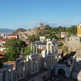 Antique Roman Theatre of Philippopolis - Centuries of Culture and History of Plovdiv Bulgaria by Georgia Mizuleva