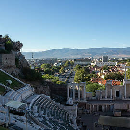 Antique Roman Theatre of Philippopolis - Centuries of Culture and the Coolest House in Plovdiv by Georgia Mizuleva