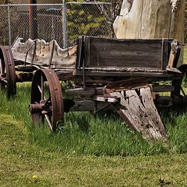 Antique Wagon 2 by John Trommer