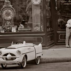 Antiques, Paris by Michael Chiabaudo