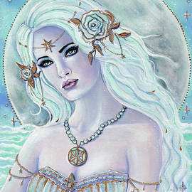 Aphrodite goddess of love by Renee Lavoie