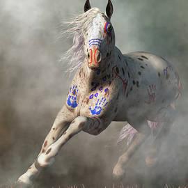 Appaloosa Warrior Horse by Daniel Eskridge