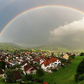 Appenzell under the rainbow by Andreas Levi