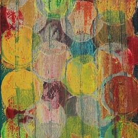 Apples original painting by Sol Luckman