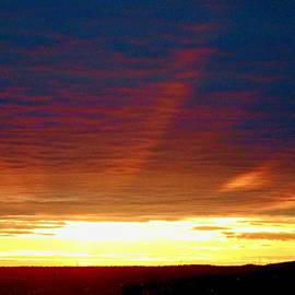 April Sunset by Stephanie Moore