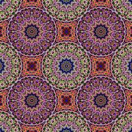 Arabesque  Allover Pattern   by Grace Iradian