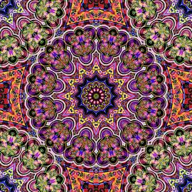 Arabesque  Pattern Tile by Grace Iradian