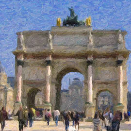 Arc de Triomphe du Carrousel by David Zimmerman