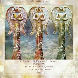 Archangels by Jean OKeeffe Macro Abundance Art