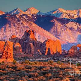 Arches Last Light by Inge Johnsson