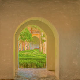 Arches of the Alhambra by Marcy Wielfaert