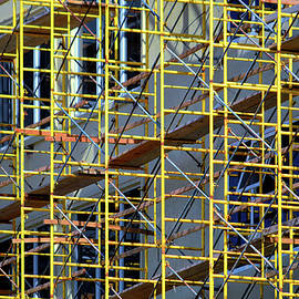 Architectural Construction Scaffolding by Bill Swartwout