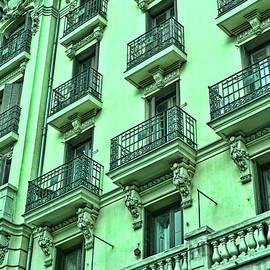 Architectural Detail # 10 - Madrid by Allen Beatty