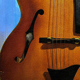 Archtop Guitar Detail
