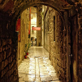 Archway Over Alley, Split by Brian Shaw