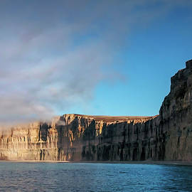 Arctic Cliffs by Marylou Badeaux