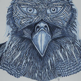 Arctic Tribal Mystic Witch Doctor - eagle masked by Washburn Designs