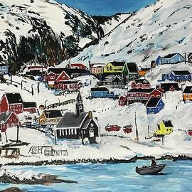Arctic Village by Eileen Backman