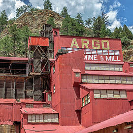 Argo Mine And Mill by Lorraine Baum