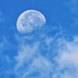 Aries Moon in Clouds by Judy Kennedy