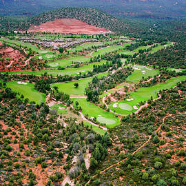 Arizona - golf country by Alexey Stiop