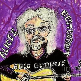 ARLO GUTHRIE Alices Restaurant Massacree by Geraldine Myszenski