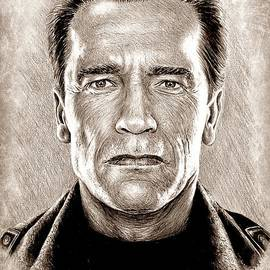 Arnie The Terminator by Andrew Read