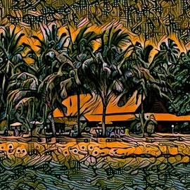 Arovo Island off Bougainville Island by Joan Stratton